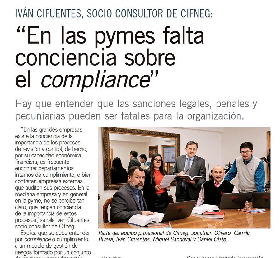 """19 de agosto 2019. Publirreportaje diario El Mercurio. """"Especial Detección y Prevención del Fraude"""", sección Economía y Negocios cuerpo B."""